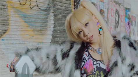 But they put CL in pigtails again.